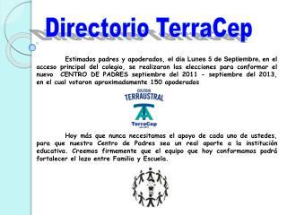 Directorio TerraCep