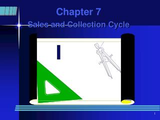 Chapter 7 Sales and Collection Cycle