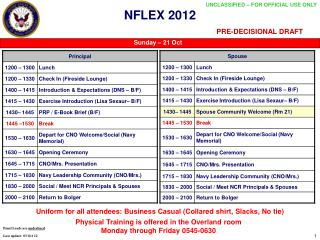 NFLEX 2012