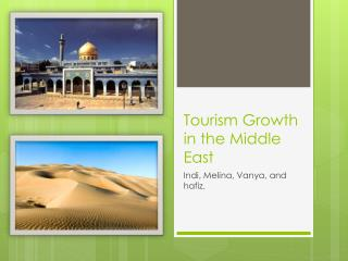 Tourism Growth in the Middle East