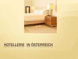 Hotellerie  in Österreich