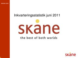 Inkvarteringsstatistik juni 2011