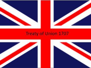 Treaty of Union 1707