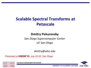 Scalable Spectral Transforms at  Petascale