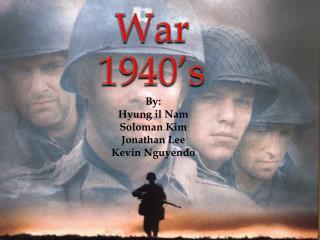 War  1940's