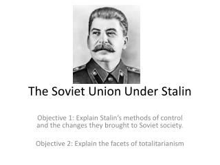 the changes in the soviet union under stalins rule The industrialization and collectivization of the soviet union under the rule of joseph stalin.