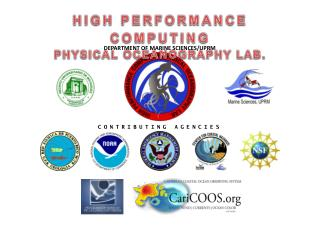 HIGH  PERFORMANCE  COMPUTING PHYSICAL  OCEANOGRAPHY  LAB .
