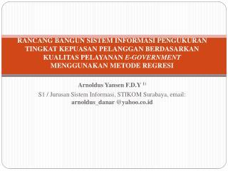 Arnoldus Yansen  F.D.Y  1)