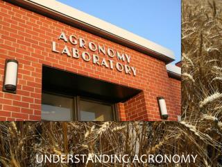 Understanding Agronomy