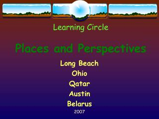 Learning Circle