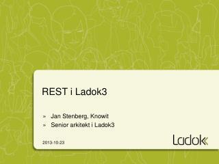 REST i Ladok3