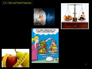 2.2.1 Diet and Food Production