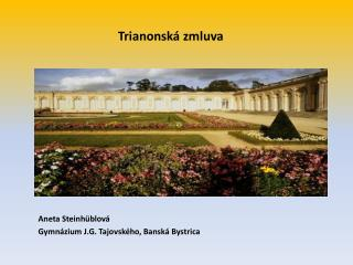 Trianonsk� zmluva