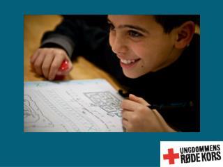 Historie 1923: Ungdommens  Røde Kors bliver grundlagt 1988: Ungdommens  Røde  Kors bliver en selv-