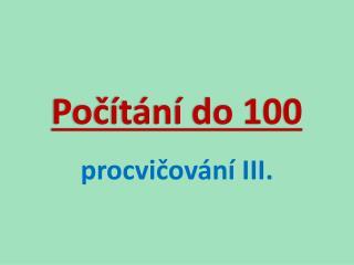 Počítání do 100