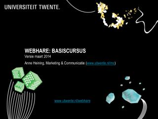 WEBHARE: BASISCURSUS