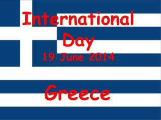 International Day 19 June 2014