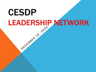 CESDP Leadership Network