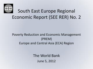 The World Bank  June 5, 2012