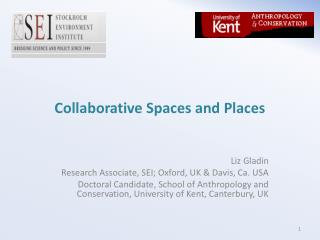 Collaborative Spaces and Places