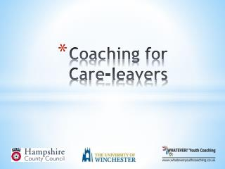 Coaching for  Care-leavers