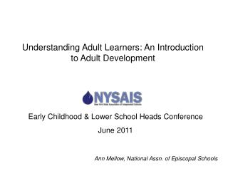 Early Childhood & Lower School Heads Conference June 2011