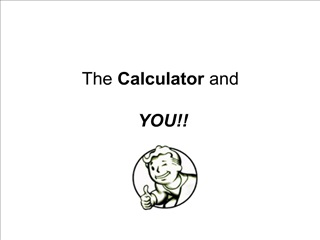 The Calculator and YOU
