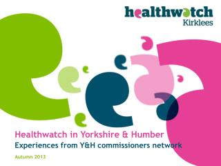 Healthwatch in Yorkshire & Humber