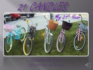 21 Candles
