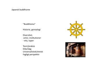 Japansk buddhisme