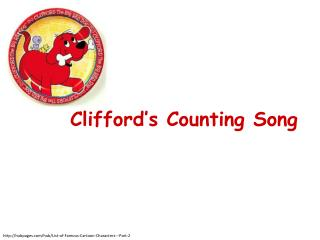 Clifford�s Counting Song