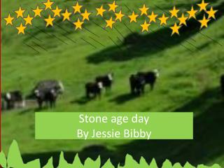 Stone age  day By Jessie Bibby
