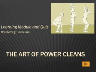 The Art of Power Cleans