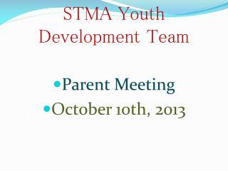 STMA Youth Development Team