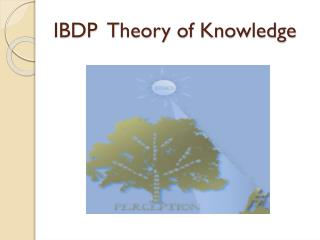 IBDP  Theory of Knowledge