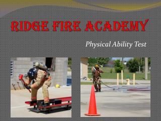 Ridge Fire Academy
