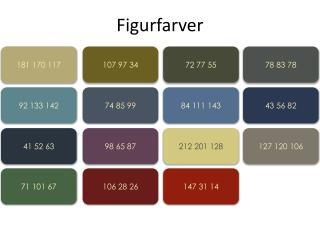 Figurfarver