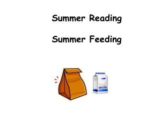 Summer Reading Summer Feeding