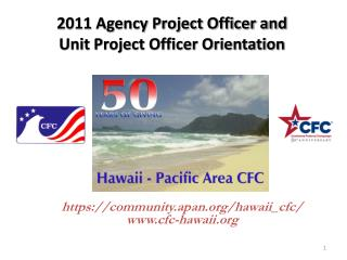 2011 Agency Project Officer and  Unit Project Officer Orientation