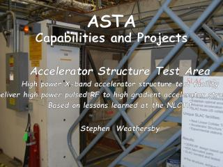ASTA Capabilities and Projects
