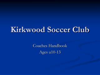 Kirkwood Soccer Club