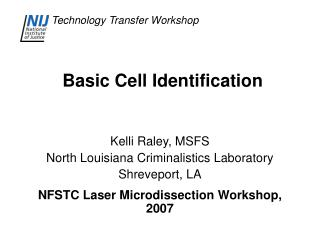 Basic Cell Identification