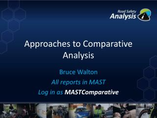 Approaches to Comparative  Analysis
