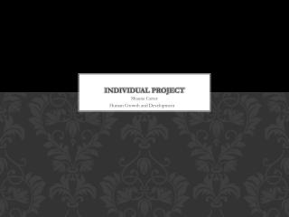 Individual Project