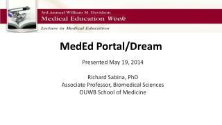 MedEd  Portal/Dream