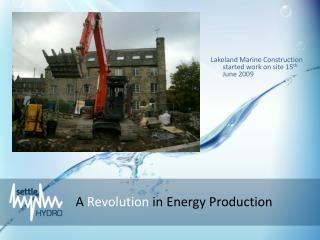 A  Revolution  in Energy Production