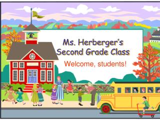 Ms.  Herberger's Second Grade Class