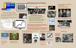 UAB Department of Physics