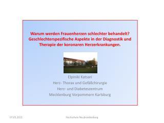 Kardiovaskul�re Mortalit�t in Deutschland