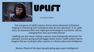 UPLIFT by Natalie Walter